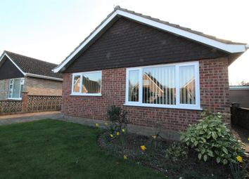 Thumbnail 3 bed bungalow for sale in Kennedy Close, Easton, Norwich