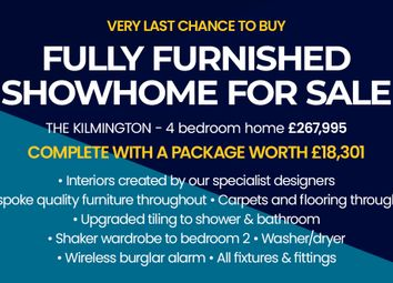 """Thumbnail 3 bed detached house for sale in """"The Kilmington"""" at Bedford Avenue, Birtley, Chester Le Street"""