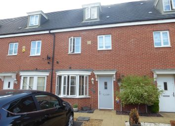 Thumbnail 4 bed town house for sale in Venus Way, Cardea, Peterborough