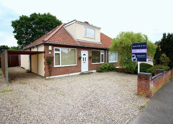 Thumbnail 3 bed semi-detached bungalow for sale in Spinney Road, Thorpe St Andrew, Norwich