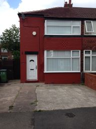 Thumbnail 2 bed end terrace house to rent in Somerford Road, Stockport, Cheshire