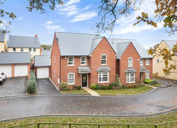Thumbnail 4 bed detached house for sale in Leworthy Drive, Exeter