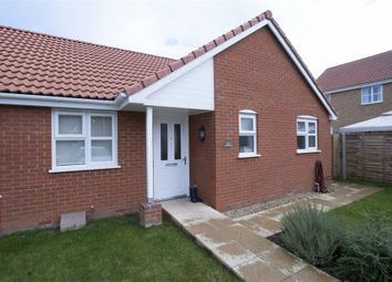 Thumbnail 2 bedroom semi-detached house for sale in Horseman Close, Downham Market, Norfolk