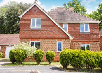 Thumbnail 4 bed detached house for sale in Burrow Hill Place, Bishopstoke Eastleigh