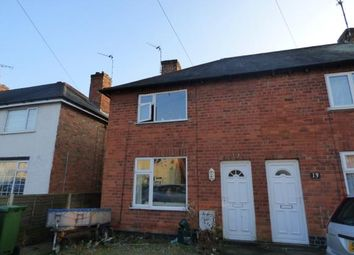 Thumbnail 2 bedroom end terrace house for sale in Tansley Avenue, South Wigston, Leicester, Leicestershire