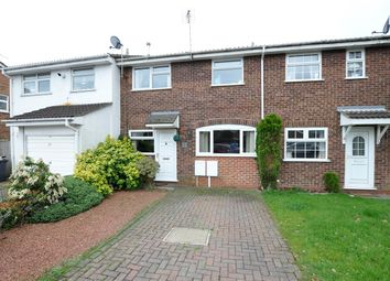 Thumbnail 2 bed town house for sale in Highgrove Close, Stretton, Burton-On-Trent