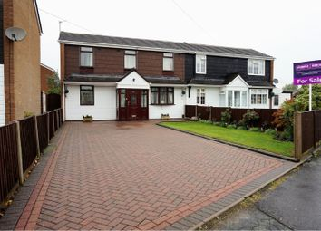 Thumbnail 3 bed semi-detached house for sale in Ecclestone Road, Wolverhampton