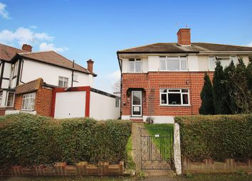Thumbnail 3 bed semi-detached house for sale in Penn Close, Greenford