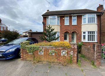 Thumbnail 3 bed semi-detached house for sale in Locarno Road, Ipswich