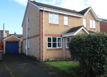 Thumbnail 3 bed semi-detached house for sale in Bishopgarth Close, Doncaster