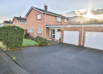 Thumbnail 4 bed detached house for sale in Delafield Road, Abergavenny