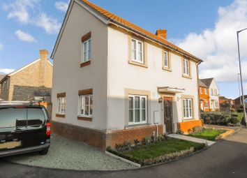 Thumbnail 3 bed detached house to rent in Stocker Way, Eynesbury, St. Neots