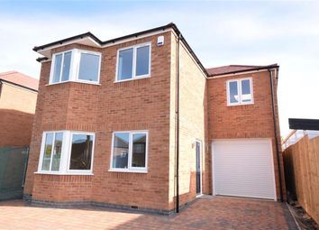 Thumbnail 4 bed detached house for sale in Boswell Street, Narborough, Leicester