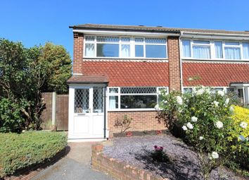 Thumbnail 3 bed end terrace house to rent in Westfield Close, Cheshunt, Waltham Cross