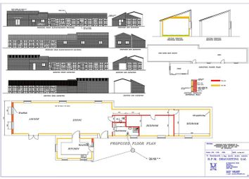 Thumbnail 4 bed barn conversion for sale in Mow Lane, Mow Cop, Stoke-On-Trent