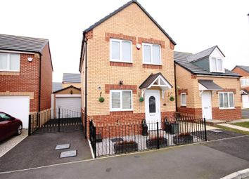 Thumbnail 3 bed semi-detached house for sale in Dormand Court, Station Town, Wingate, County Durham