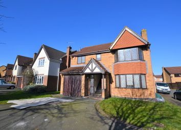Thumbnail 4 bed detached house to rent in Forest House Lane, Leicester Forest East, Leicester