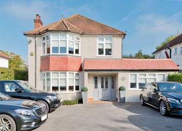 Thumbnail 4 bed detached house for sale in Cheam Road, East Ewell Surrey