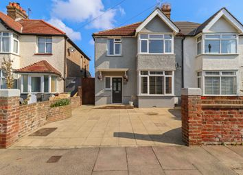 Thumbnail 3 bed semi-detached house for sale in Woodgate Road, Eastbourne
