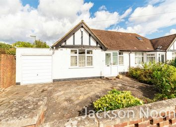 Thumbnail 2 bed semi-detached bungalow for sale in Danetree Road, West Ewell, Epsom