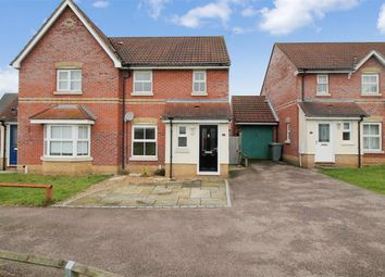 Thumbnail 3 bed semi-detached house for sale in Dalbier Close, Norwich