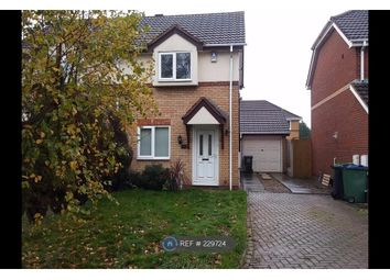 Thumbnail 2 bed semi-detached house to rent in Hellier Avenue, Tipton