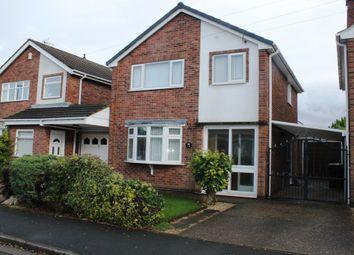 Thumbnail 3 bed detached house for sale in Tavistock Close, Hucknall