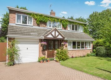 Thumbnail 5 bed detached house for sale in Hollies Way, Thurnby, Leicester
