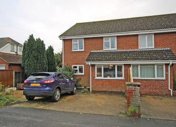 Thumbnail Semi-detached house for sale in Manor Road, New Milton