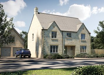 "Thumbnail 5 bedroom detached house for sale in ""The Bolberry"" at Cirencester Road, Fairford"