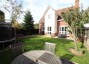 Thumbnail 4 bed detached house for sale in Barn Fields, Stanway, Colchester