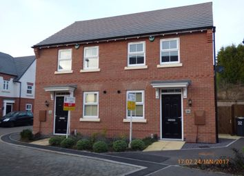 Thumbnail 2 bed semi-detached house to rent in Isaac Grove, Ashby De La Zouch, Leicestershire