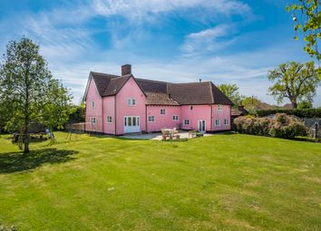 Thumbnail 5 bed detached house for sale in Hartest, Bury St Edmunds, Suffolk