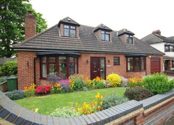 Thumbnail 4 bedroom detached bungalow for sale in Fairholme Avenue, Gidea Park, Romford