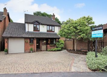 Thumbnail 4 bed detached house for sale in Calshot Way, Frimley