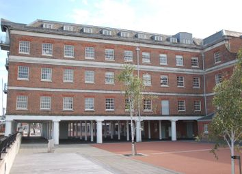 Thumbnail 2 bed flat for sale in The Granary, Royal Clarence Yard, Gosport