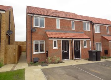 Thumbnail 2 bed end terrace house for sale in Snow Close, Holdingham, Sleaford