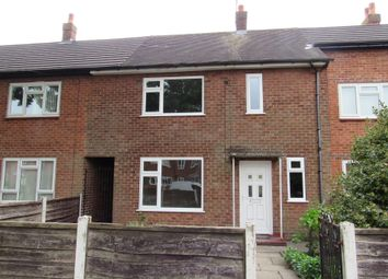 Thumbnail 2 bed terraced house for sale in Foxfield Road, Manchester