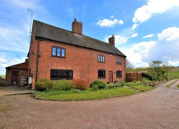 Thumbnail 5 bed farmhouse for sale in Hobb Lane, Marchington, Uttoxeter