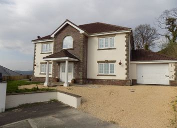 Thumbnail 6 bed detached house for sale in The Oaks, Cimla, Neath, Neath Port Talbot.