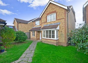 Thumbnail 4 bed detached house for sale in Honner Close, Hawkinge, Folkestone, Kent