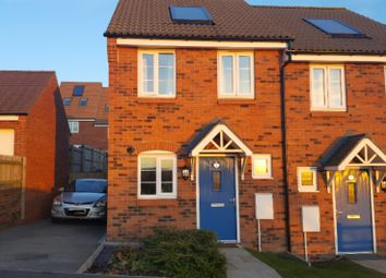 Thumbnail 2 bed semi-detached house for sale in Burdock Gardens, Northampton