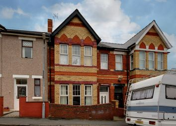 Thumbnail 3 bed terraced house for sale in Somerset Road, Newport