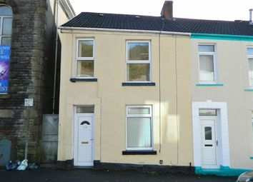 Thumbnail 3 bed end terrace house for sale in North Hill Road, Mount Pleasant, Swansea