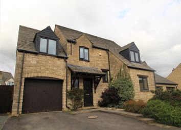 Thumbnail 4 bed detached house for sale in Ralegh Crescent, Witney, Oxford, Oxfordshire