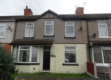 Thumbnail 3 bed terraced house to rent in Great North Road, Woodlands, Doncaster