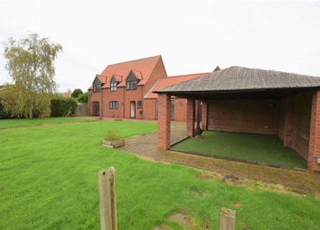 Thumbnail 4 bed detached house for sale in High Thorpe, Southrey, Lincoln
