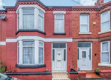 Thumbnail 3 bed terraced house for sale in Devondale Road, Mossley Hill, Liverpool