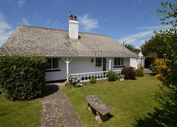 Thumbnail 4 bed detached bungalow for sale in Cheriton Bishop, Exeter, Devon