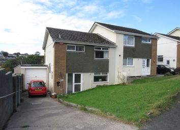 Thumbnail 3 bed semi-detached house for sale in Wolrige Way, Plympton, Plymouth